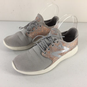New Balance 7 Fuel Core V3 Coast Gray Rose gold
